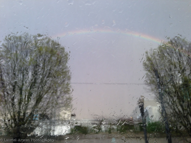 Rain Storm Rainbow